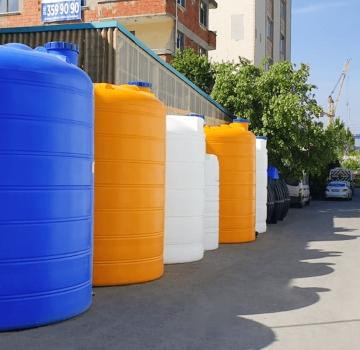 Polietilen Kimyasal Depolama Tankları